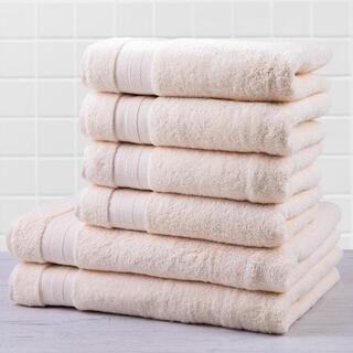 Sada froté uterákov a osušiek MEXICO smotanová 6 ks