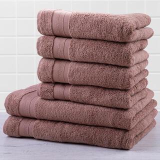 Sada froté uterákov a osušiek MEXICO hnedá 6 ks