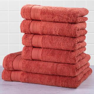 Sada froté uterákov a osušiek MEXICO tehlová 6 ks