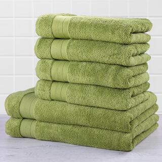 Sada froté uterákov a osušiek MEXICO zelená 6 ks