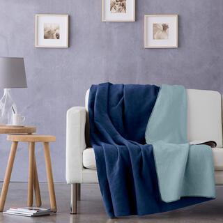 Pléd NATURE modrý 150 x 200 cm