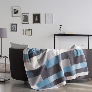 Pléd MANTA modrý 150 x 200 cm
