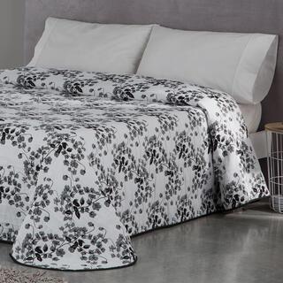 Prikrývka cez posteľ CARLOTA šedá, dvojlôžko