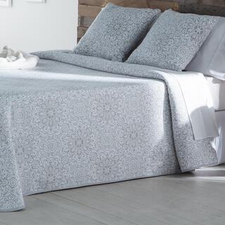 Prikrývka cez posteľ MALENA šedá, dvojlôžko