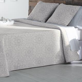Prikrývka cez posteľ MALENA béžová