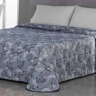 Prikrývka cez posteľ SOCORRO modrošedá