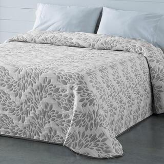 Prikrývka cez posteľ EUGENIA šedá