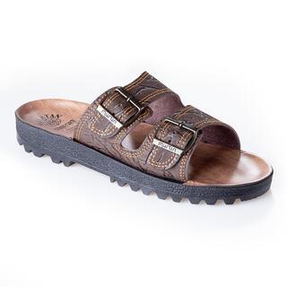 Pánske papuče klasik hnedé