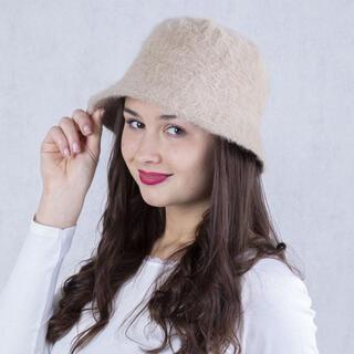 Dámsky klobúk ANGORA béžový