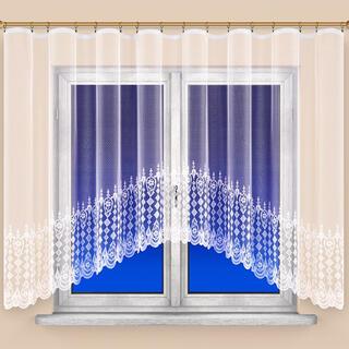 Hotová žakárová záclona AGÁTA 350 x 160 cm