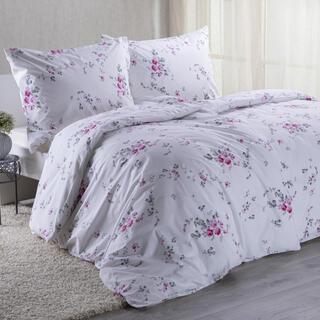 Bavlnené posteľné obliečky MIA ružová