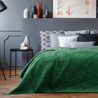 Prikrývka na posteľ LAILA zelená