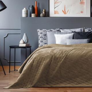 Prikrývka na posteľ LAILA cappuccino