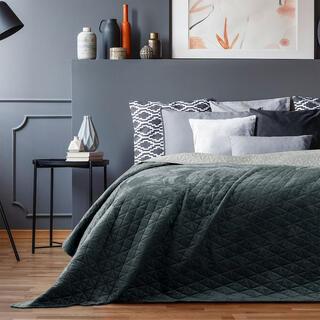 Prikrývka na posteľ LAILA šedá
