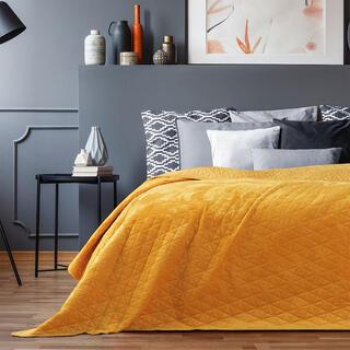 Prikrývka na posteľ LAILA medová