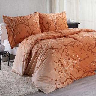 Bavlnené posteľné obliečky PATRICIA oranžové