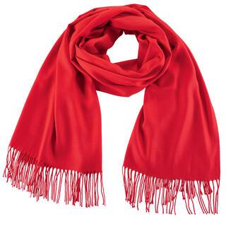 Dámsky šál - pašmína červená