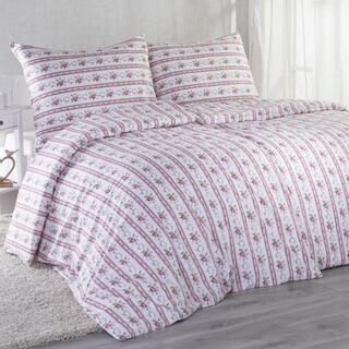 Bavlnené posteľné obliečky ROZÁLIE červená