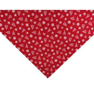 Stredový obrus NADIELKA červená 65 x 65 cm