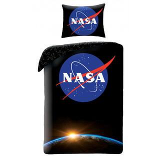 Bavlnené posteľné obliečky NASA