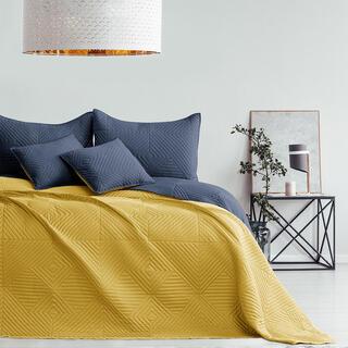 Prikrývka na posteľ SOFTA medová