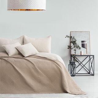 Prikrývka na posteľ SOFTA béžová
