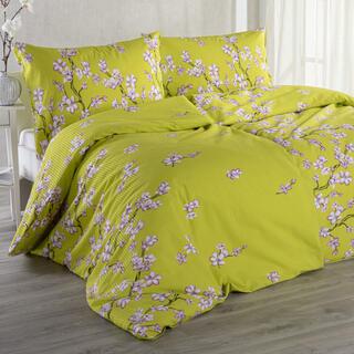 Krepové posteľné obliečky SAKURA