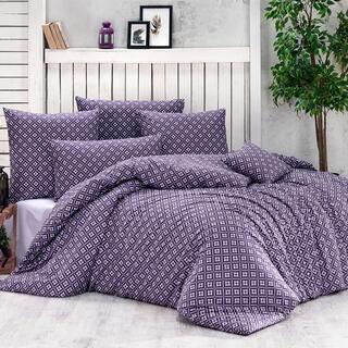 Bavlnené posteľné obliečky BRYNJAR fialové