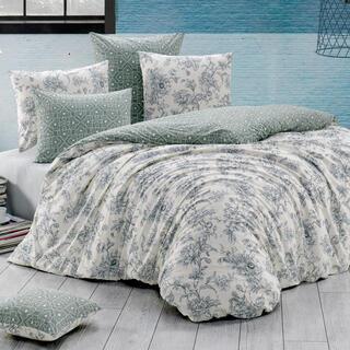 Bavlnené posteľné obliečky ESTELITA smotanové, jednolôžko