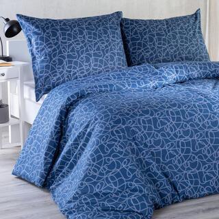 Bavlnené posteľné obliečky Šnúrky