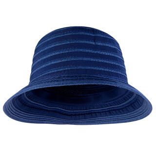 Klobúk dámsky letné modrý