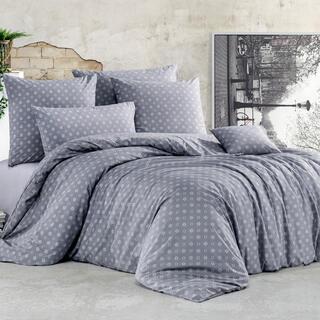 Bavlnené renforcé posteľné obliečky GUDRUN šedé