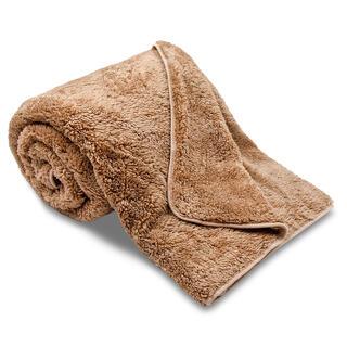 Obojstranná deka OVEČKA čokoláda 150 x 200 cm