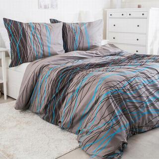 Krepové posteľné obliečky LINE