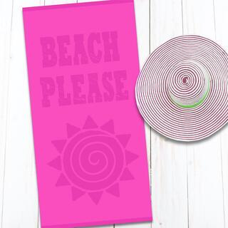 Bavlnená plážová osuška BEACH 80 x 160 cm