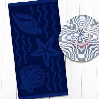 Bavlnená plážová osuška MORE 80 x 160 cm