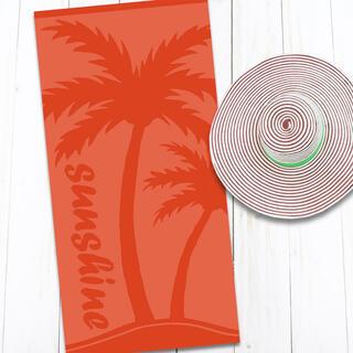 Bavlnená plážová osuška PALMA 80 x 160 cm