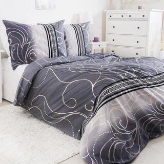 Krepové posteľné obliečky SILVER