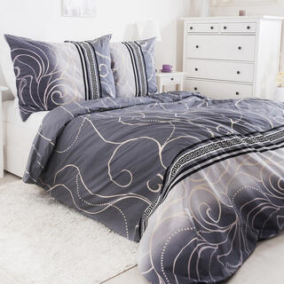 Bavlnené posteľné obliečky SILVER