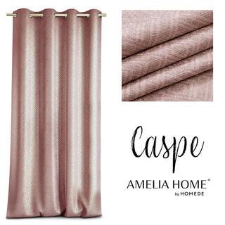 Záves BLACKOUT CASPE ružový 140 x 250 cm