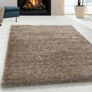 Kusový koberec SHAGGY Brilliant taupe