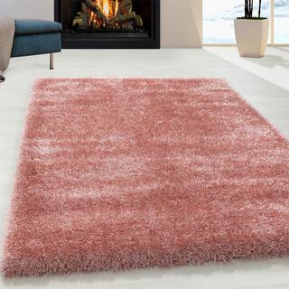 Kusový koberec SHAGGY Brilliant ružový
