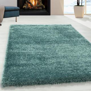 Kusový koberec SHAGGY Brilliant aqua