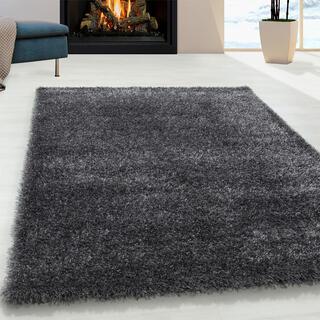 Kusový koberec SHAGGY Brilliant šedý