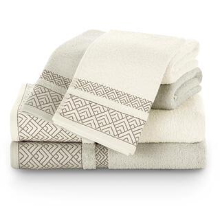 Sada uterákov a osušiek VOLIE béžová 6 ks