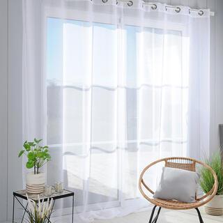 Voálová záclona na francúzske okno MONNA XXL 300 x 260 cm