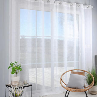 Voálová záclona na francúzske okno CELIAN XXL 300 x 260 cm