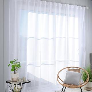 Voálová záclona na francúzske okno MADRID XXL 290 x 260 cm