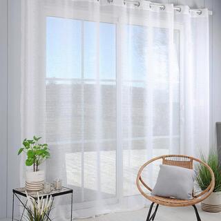 Voálová záclona na francúzske okno CELIAN XXL 300 x 280 cm