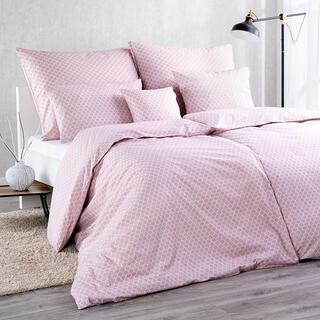Bavlnené kombinovateľné obliečky ŠUPINY ružová